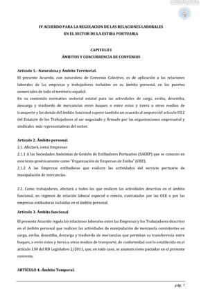 IV Acuerdo Marco